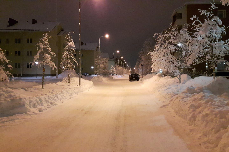 Kotikatu.   Home street