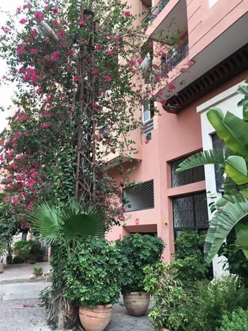 Appt Centre ville Guéliz Carré Eden/Wifi. - Marrakesh