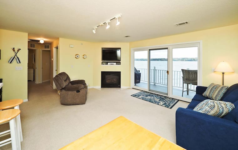 Lake Charlevoix Condo on the South Arm of the Lake