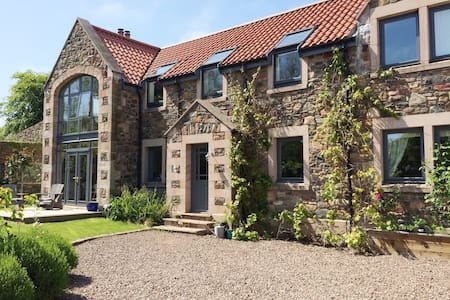 Contemporary family home close to stunning beach - Scottish Borders - Casa