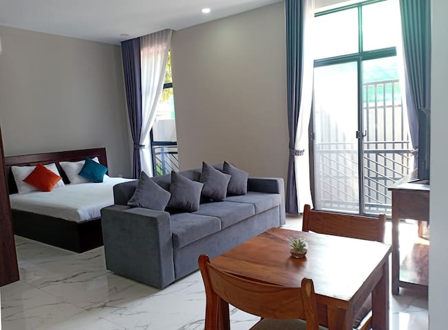 Siem Reap Super Clean Spacious Studio Apartment