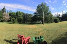 Enjoy our spacious backyard.