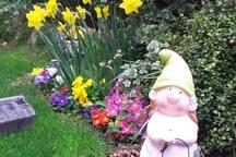 Spring at garden house