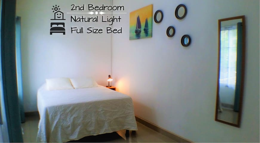 Fully equipped 2nd bedroom