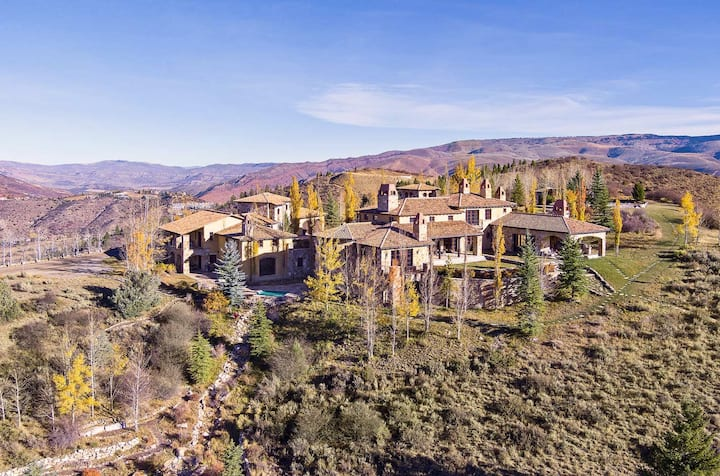 Vail Valley 220-Acre Estate | Pool, Tennis & Basketball Courts