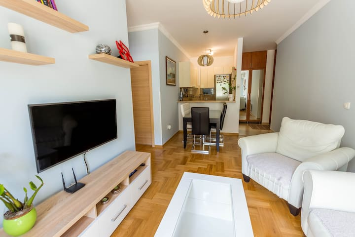 Bright, stylish apartment in Budva city center