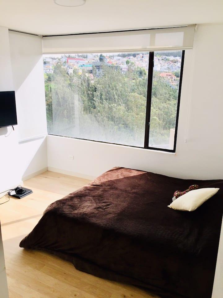 Hermosa habitación con Vista privilegiada!