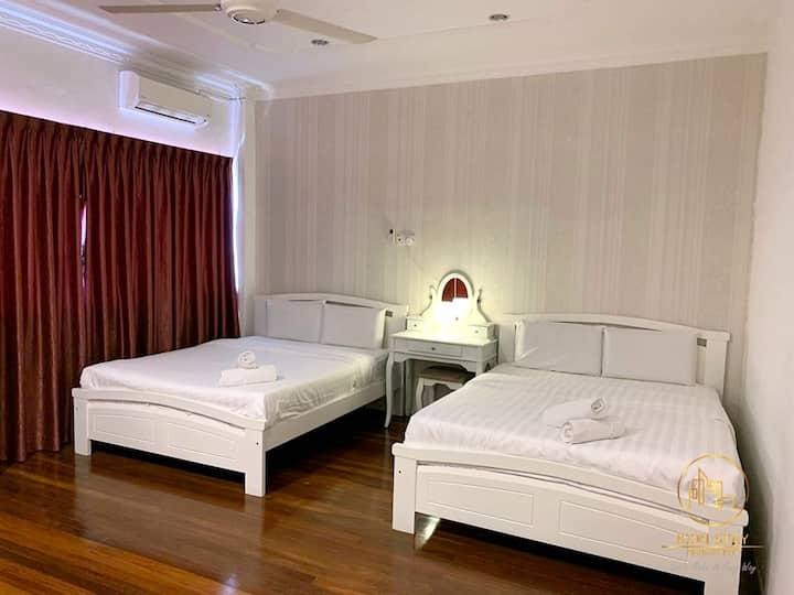 Jonker Walk Melaka 8pax House 3R2B Wifi Icon Stay