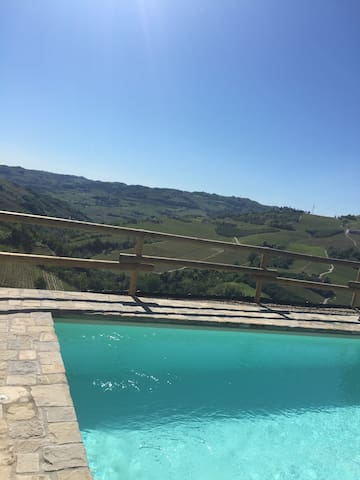 Best view in Piedmont? Pool, AC and all you need.