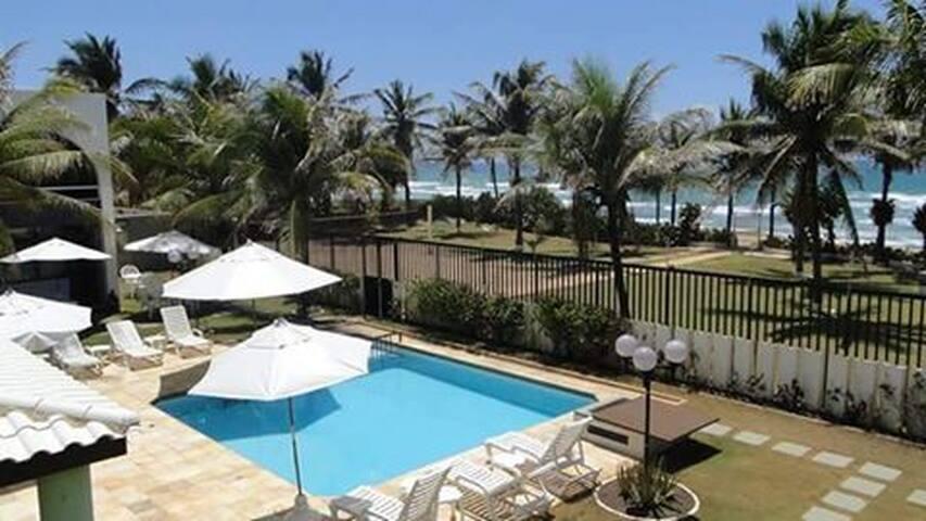 Condominio Porto Riviera, de frente para  o mar - Salvador - Appartement en résidence