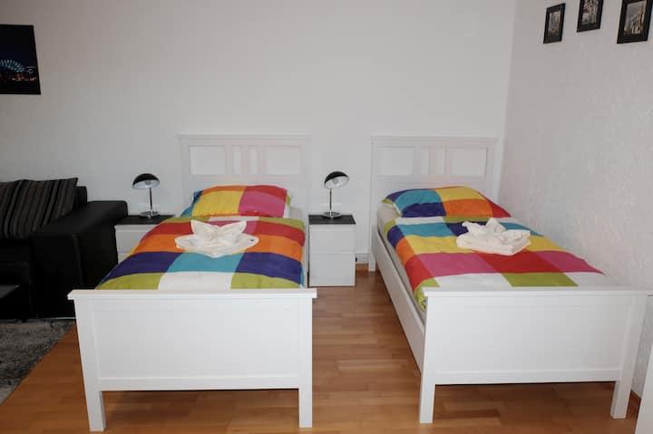 Ferienwohnung Am Wald, (Herscheid), Ferienwohnung Am Wald, 45qm, Terrasse, 1 Schlafzimmer, max. 4 Personen