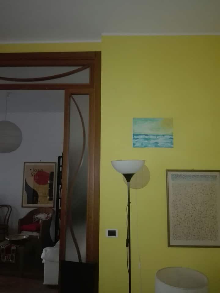 Luminoso e tranquillo appartamento in centro città
