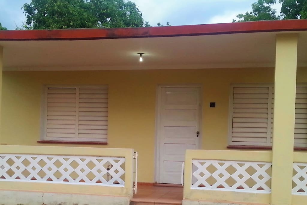 Front of Villa Amaneceres, the perfect place for your vacation trip. Outstanding service, affordable and above all a vacation to remember.