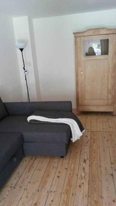 Sofa oder Bett, ganz wie der Gast sich wohlfühlt