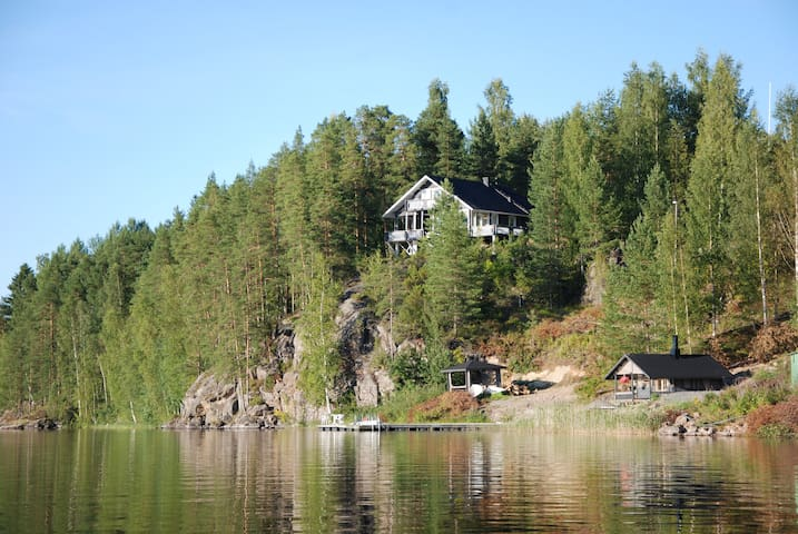 Cottage with beautiful lake view