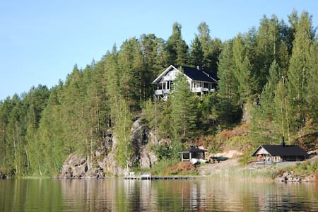 Cottage with beautiful lake view - Rautalampi