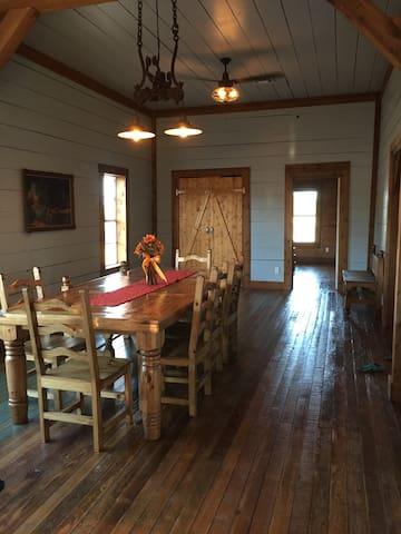 Fabulous Turn of the Century Farmhouse on Ranch