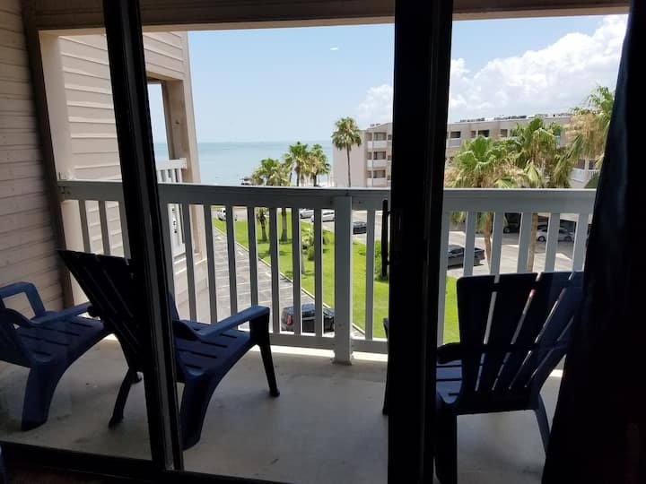 Tiki Hut Overlook Newly Renovated Beachfront Condo