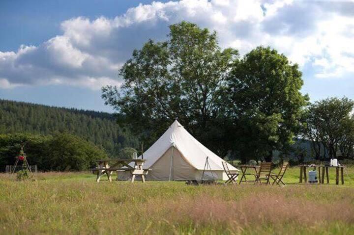 Llandegla fishery bell tent