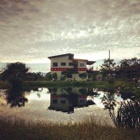 享受大自然的農村生活體驗dogful@豆府小樓西廂房