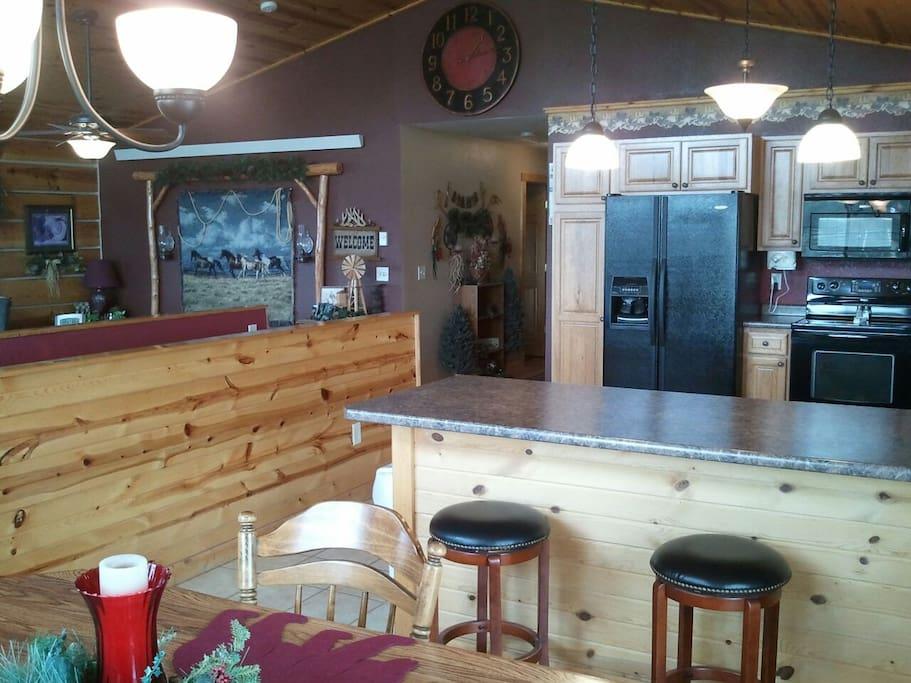 Dining Room/Kitchen main floor