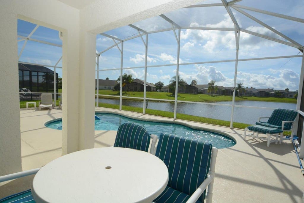 85961 3 Bedroom Pool Home Eagle Pointe Kissimmee Houses For Rent In Kissimmee Florida
