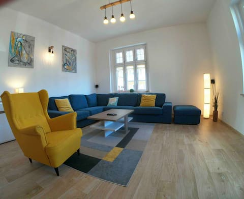 Spacious apartment in the heart of Katowice