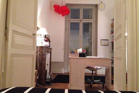 Chambre idéalement située au Ralliement - Angers - 公寓