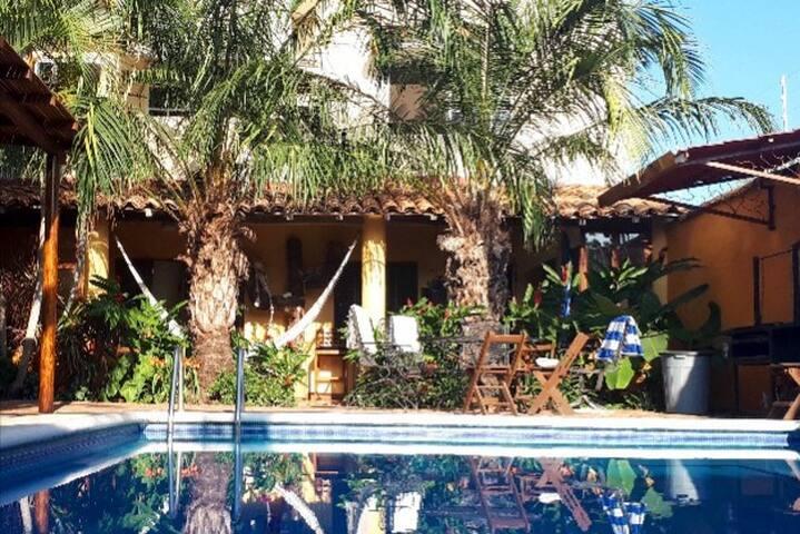 Casa Amarilla's Garden Bedroom