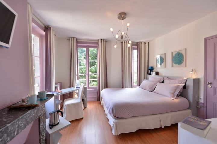 Chambre Happy Day, Villa Pascaline, centre ville. - Clermont-Ferrand - Bed & Breakfast