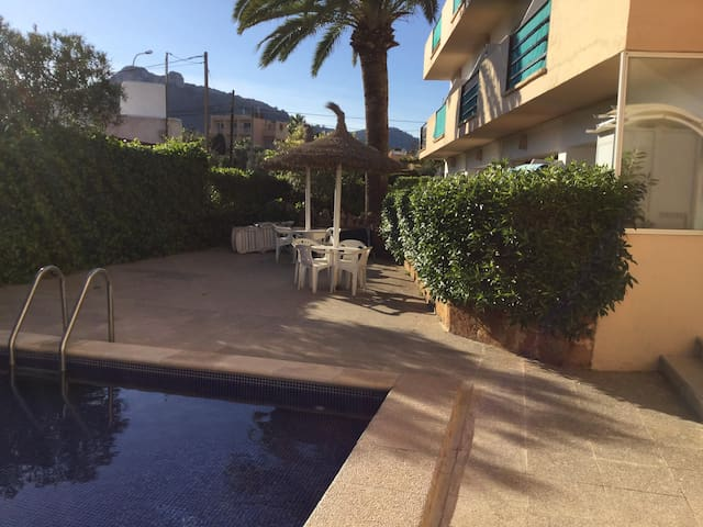 Quiet apartment with pool in Cala Millor - Cala Millor - Wohnung