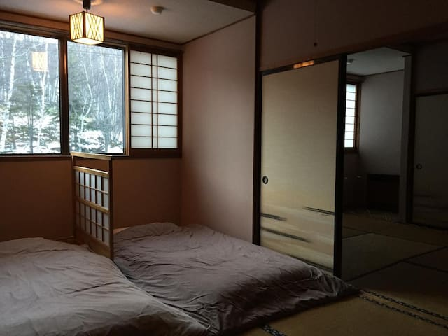 Single Futon in Mixed Japanese Style DormitoryRoom