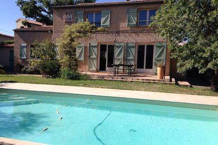 Villa piscine-mer a pied - La Garde
