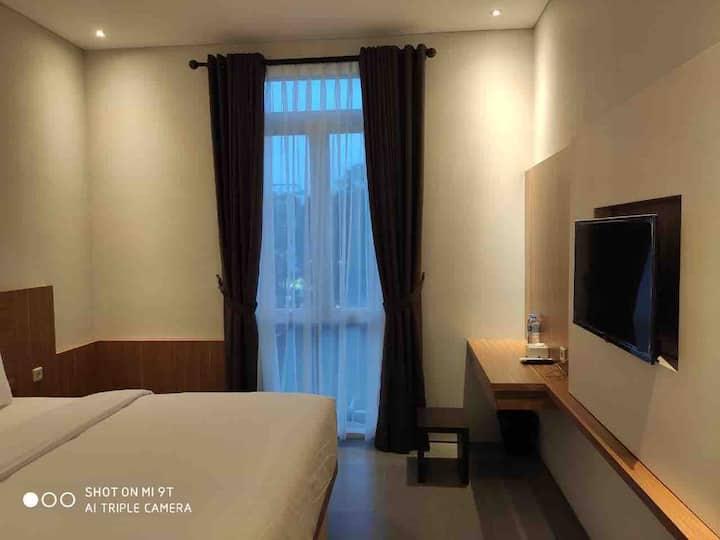 Delux Bedroom at Pasteur Setiabudi North Bandung
