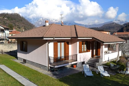 Beautiful villa with private garden - Valbrona - Villa