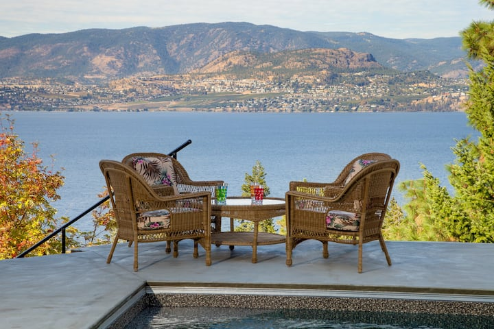 Kelowna Lakeview Bed & Breakfast ( Sunset Room)