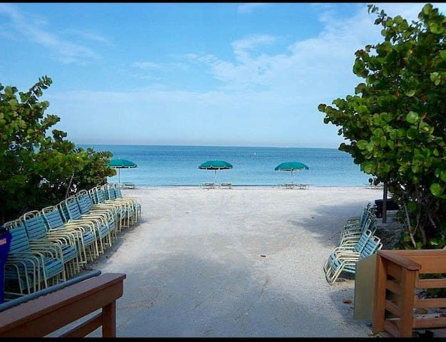 Private Beach Club with shuttle, gated community