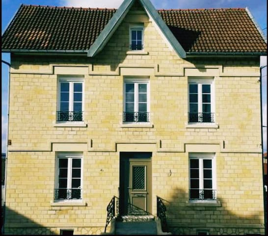Chambre+sdb+toilette privatifs centre saint dizier