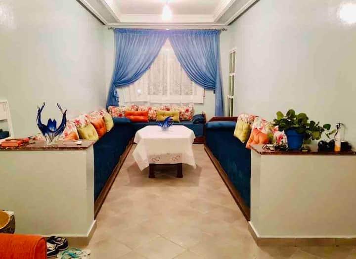 Martil : Un appartement calme et propre pour vous!
