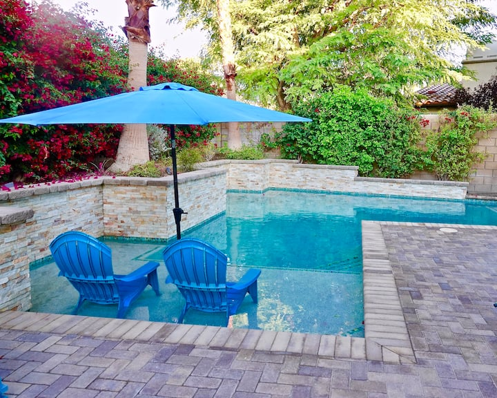 La Quinta,30day,snowbirds,lovely 4bd,3.5b.pool,spa