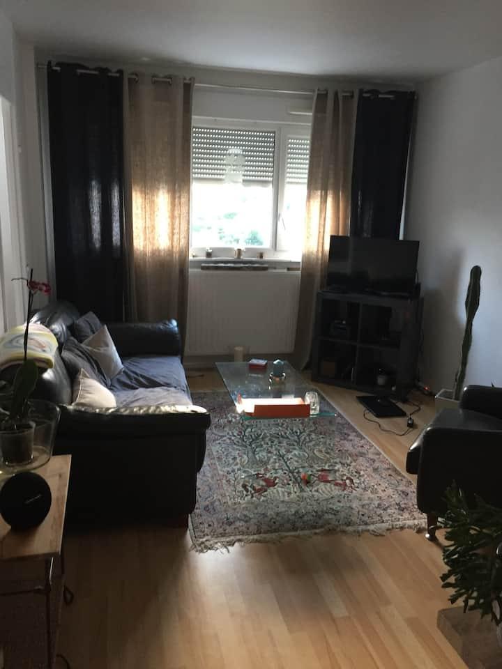 Appartement lumineux de 3 pièces