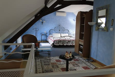 Loft douillet dans Maison de caractère en Berry - La Chapelle-Saint-Ursin - Σπίτι