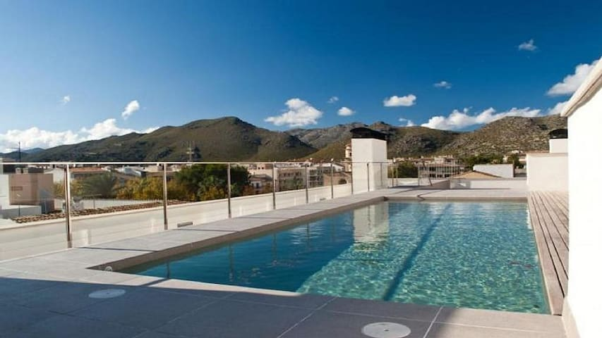 Luxury 3 bedroom apartment, Puerto Pollensa.