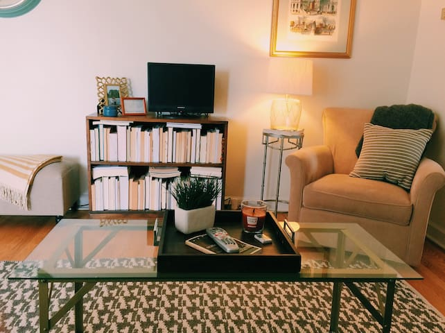 Clean/Charming/Quaint Wheaton Apt! - Wheaton - Apartamento