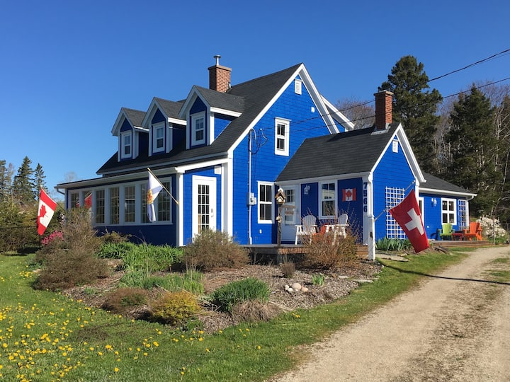 The Blue Cottage