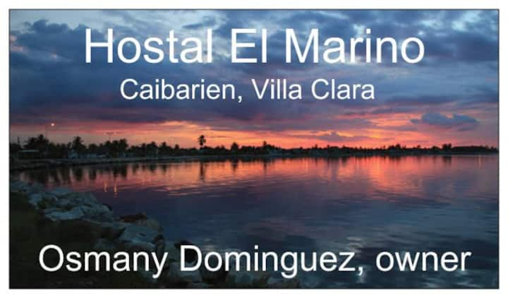 Hostal El Marino, Caibarien, triple bed room