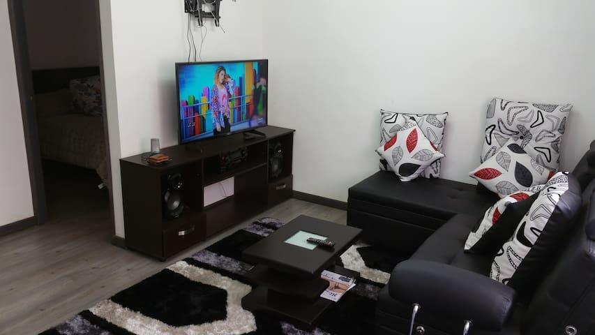 Apartamento amoblado Central