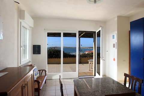 Sea front house close to 2 beaches