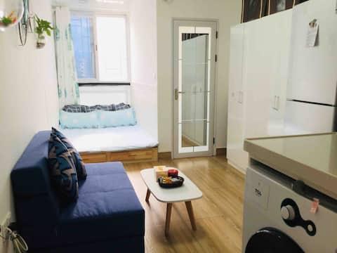 【丽夏&民宿】韶关浈江区, 精致公寓,一个你独处的空间