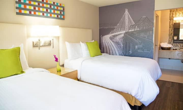 Inn at Temescal, 2 Double Bed Standard Non-Smoking
